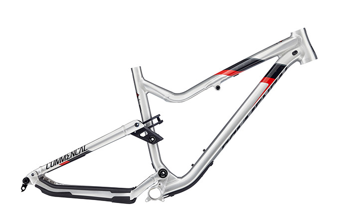 FRAME META AM V4.2 650B BRUSHED RED 2018