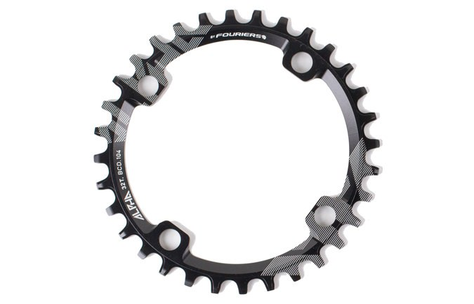 RIDE ALPHA 30T NARROW WIDE CHAIN RING