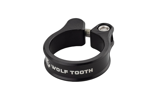 WOLF TOOTH SEAT CLAMP 38.6MM BLACK