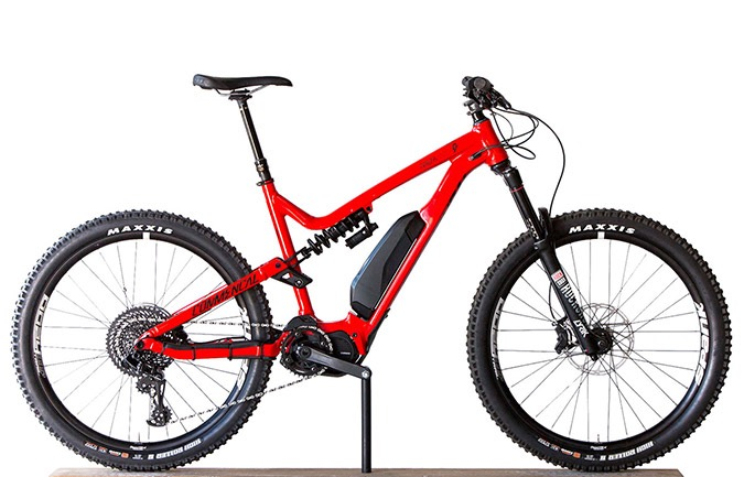 META POWER RACE 650B SHINY RED 2018 (L)