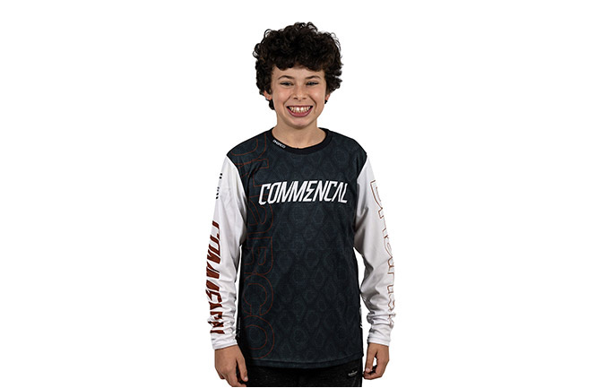 COMMENCAL/DHARCO KIDS RAMPAGE EDITION LONG SLEEVE JERSEY