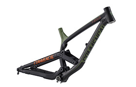 FRAME FURIOUS BRITISH COLUMBIA 650B GREEN/ORANGE/BLACK 2018
