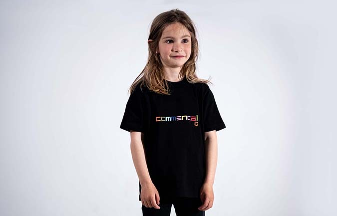 COMMENCAL KIDS T-SHIRT MULTICOLOUR