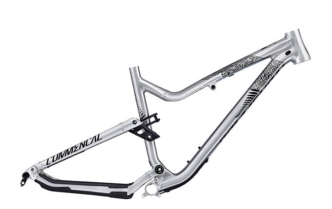 FRAME META AM V4.2 650B NEW ZEALAND BRUSHED 2018
