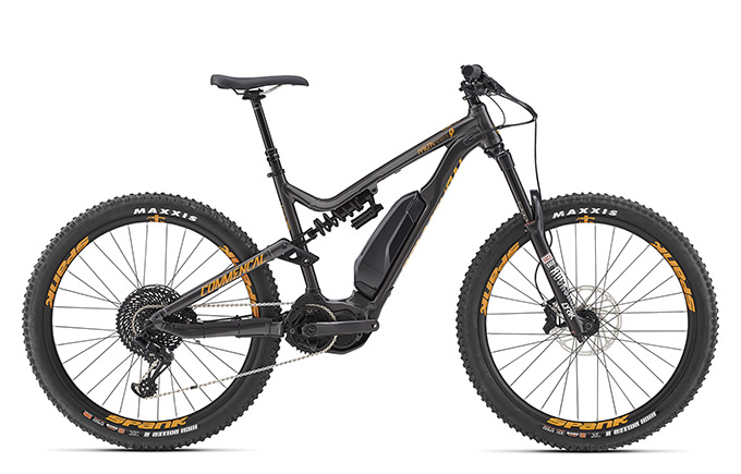 META POWER RACE 650B+ GREY 2018