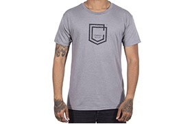 COMMENCAL SHIELD T-SHIRT HEATHER GREY 2019