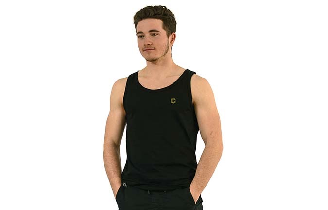 COMMENCAL TANK TOP BLACK 2020